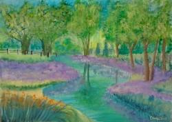 Picturi cu peisaje Clopotei in padure
