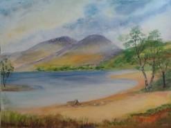 Picturi cu peisaje Linistea de dimineata