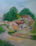 Picturi cu peisaje O zi de vara