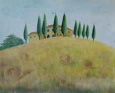 Picturi cu peisaje Toscana