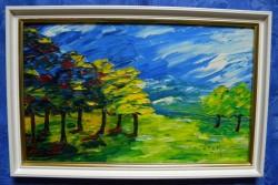 Picturi cu peisaje Padurea