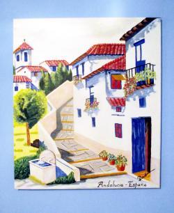 Picturi cu peisaje Andalucia - Spania