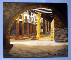 Picturi cu peisaje Aragon - Spania