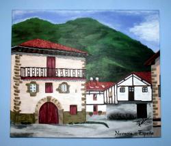 Picturi cu peisaje Navarra - Spania