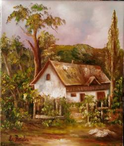 Picturi cu peisaje casa in asteptare
