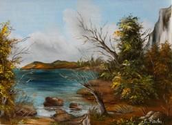 Picturi cu peisaje Golf
