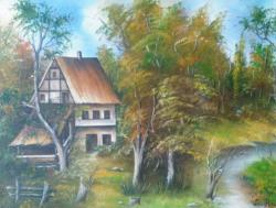 Picturi cu peisaje hanul