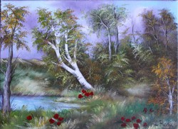 Picturi cu peisaje In luminis