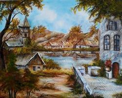 Picturi cu peisaje In pragul toamnei
