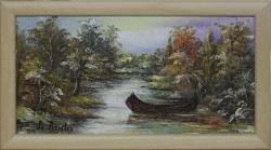 Picturi cu peisaje Lotca (cu rama)