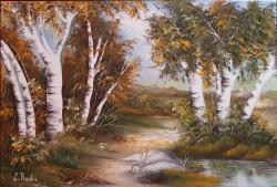 Picturi cu peisaje Mestecanis