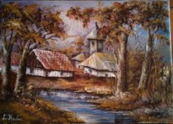 Picturi cu peisaje Nuante de toamna