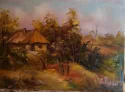 Picturi cu peisaje peisaj tomnatic
