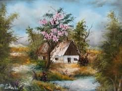 Picturi cu peisaje Primavara
