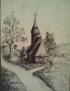 Picturi cu peisaje Muzeul satului
