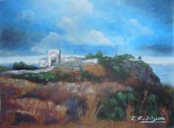 Picturi cu peisaje Ruinele de la kaliakra