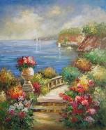 Picturi cu peisaje Coasta