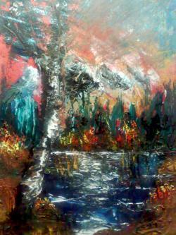 Picturi cu peisaje Crud 2