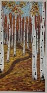 Picturi cu peisaje Anotimpuri-toamna