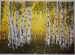 Picturi cu peisaje Toamna aurie