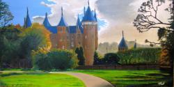 Picturi cu peisaje Castle