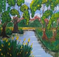 Picturi cu peisaje Ape