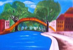 Picturi cu peisaje La Pod
