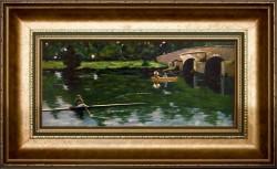 Picturi cu peisaje Podul din grez
