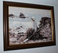 Picturi cu peisaje Pescarita din granville