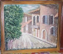 Picturi cu peisaje Citadin - lumini si umbre