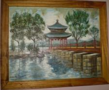 Picturi cu peisaje Templu chinezesc