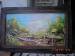 Picturi cu peisaje Toamna la derea