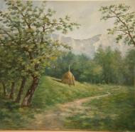 Picturi cu peisaje Poiana