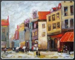 Picturi cu peisaje Amintire urbana
