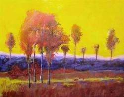Picturi cu peisaje Singuratatea toamnei