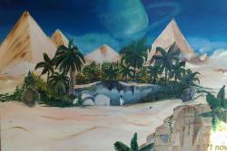 Picturi cu peisaje egypt