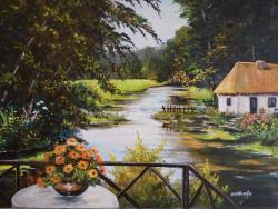 Picturi de vara dimineata cu roua ...