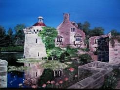 Picturi cu peisaje Cetatea