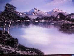 Picturi cu peisaje Dimineata de vis