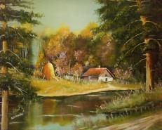 Picturi cu peisaje Flautul