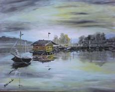 Picturi cu peisaje La  cherhana
