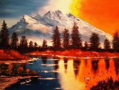 Picturi cu peisaje Natura 4