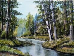 Picturi cu peisaje Peisaj de vara 5