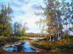 Picturi cu peisaje Peisaj de vara 6
