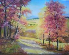 Picturi cu peisaje Peisaj rustic 5