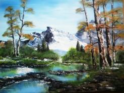 Picturi cu peisaje Vis de vara