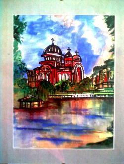 Picturi cu peisaje Catedrala