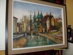 Picturi cu peisaje Orasul vechi