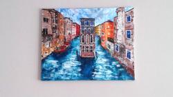 Picturi cu peisaje Venetia sens unic