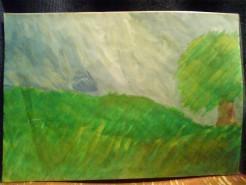 Picturi cu peisaje Campie 2